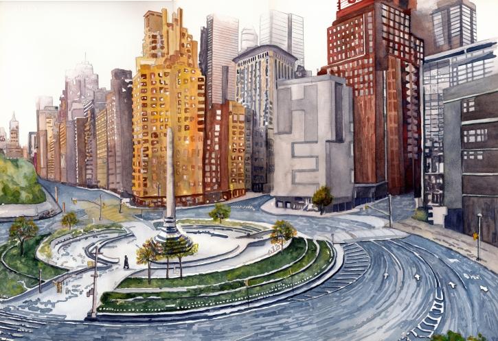 Columbus Circle,NYC